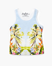 Paradise Found Sequin Tank Top
