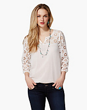 Petunia Eyelet Top