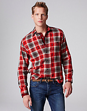 Plaid Two-Pocket Shirt*