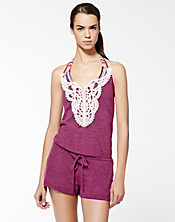 Pure Spirit Lace Romper