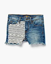 Riley Crochet Trim Shorts