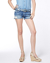 Riley Cut Off Lace Shorts