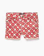 Riley Woodblock Clover Shorts
