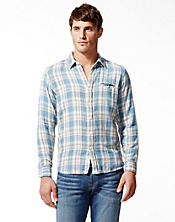 Rockaway Double Weave One-Pocket Shirt