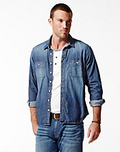 Santa Fe Two-Pocket Denim Shirt