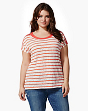 Seanna Striped Dolman Top