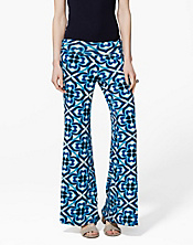 Shira Mosaic Palazzo Pants