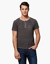 Short Sleeve Henley