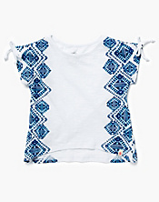 Side Printed T-Shirt
