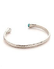 Silver Skinny Cuff