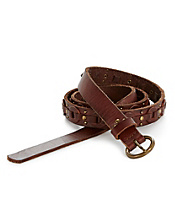 Skinny Belt With Round Links