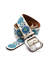 Standard Floral Embroidered Belt