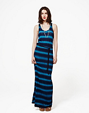 Stevee Spray Tie-Dye Maxi Dress