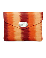 Straw Envelope Clutch