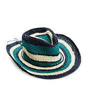 Striped Cowboy Hat