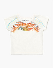 Sunset Logo Boxy T-Shirt