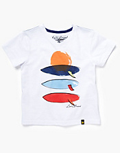Sunset Surfboard T-Shirt