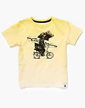 Surf Bike Bear T-Shirt