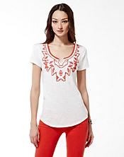 Tanya Beaded T-Shirt