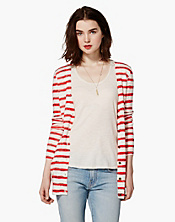 Taryn Painted Stripe Cardigan