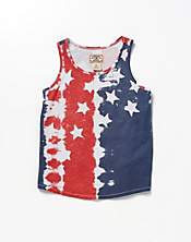 Tie Dye Flag Razor Tank