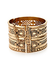 Tribal Hinge Cuff