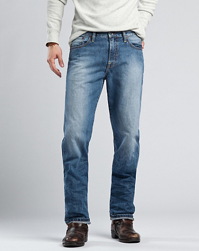 329 Classic Straight Jeans