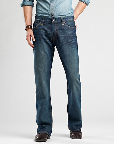 455 Relaxed Bootleg Jeans*