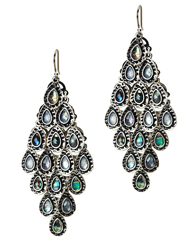 Abalone Chandelier Earrings