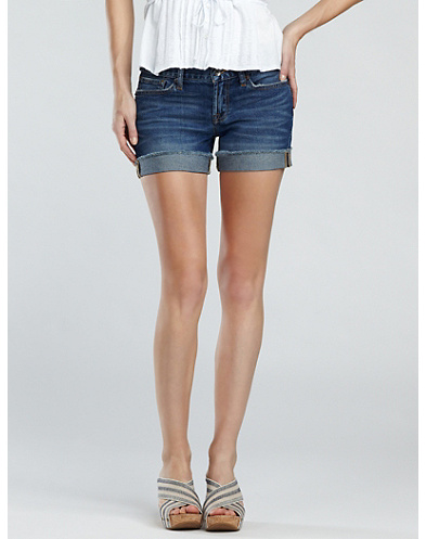 Abbey Denim Shorts*