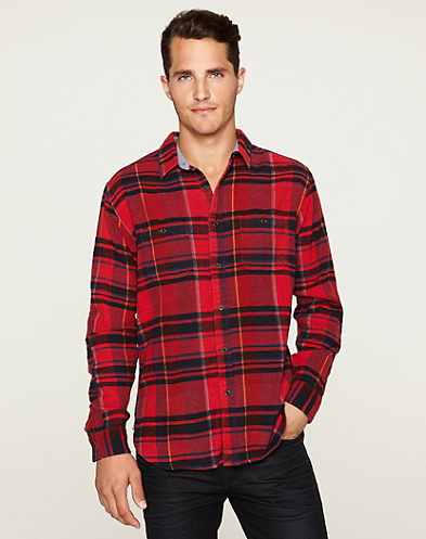Abbot Plaid Two-Pocket Shirt*