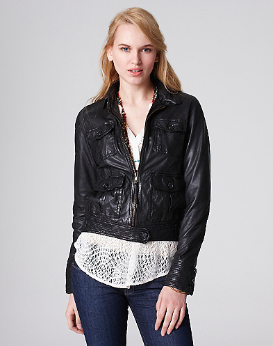 Air Leather Bomber