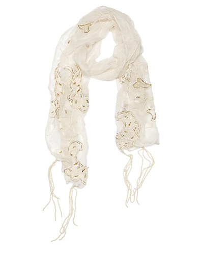 Alana Sequined Scarf*