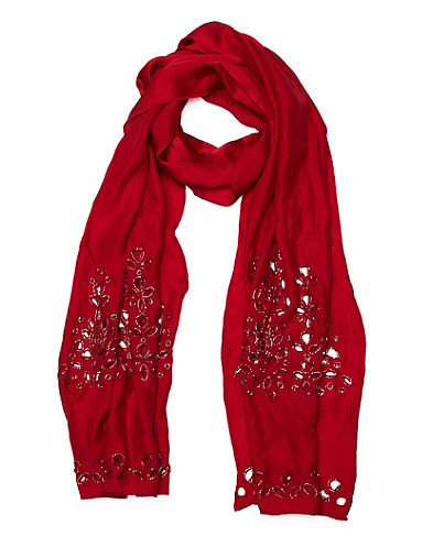 Alisa Beaded Scarf