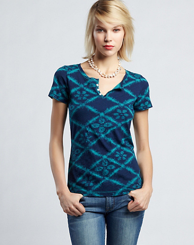 Allover Diamond Tile T-Shirt