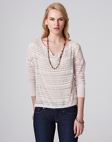 Allover Slouchy Top