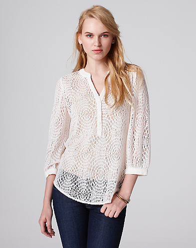 Ally Lace Pullover*