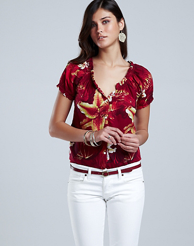 Amber Tropical Blouse*
