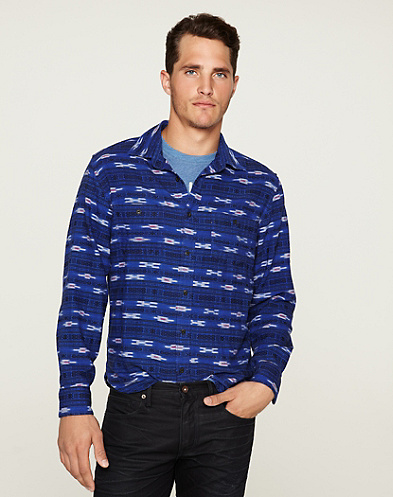 Andes Ikat Two-Pocket Shirt