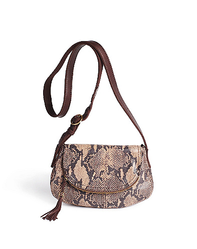Angelica Reptile Crossbody