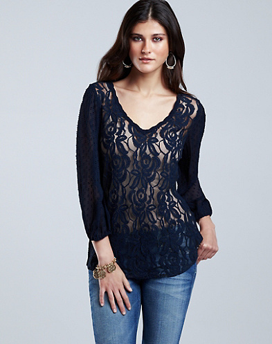 Anna Lace Top*
