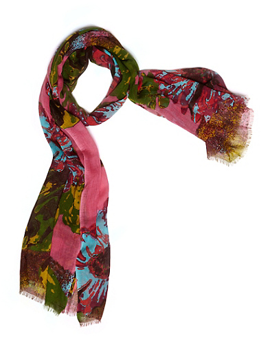 Arianna Exploded Floral Scarf*