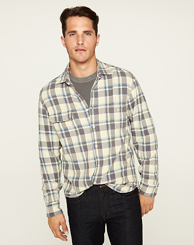 Ashfield Plaid Two-Pocket Shirt
