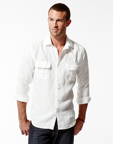 Baird McNutt Ventura Linen Shirt
