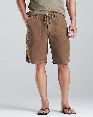 Baja Linen Shorts*