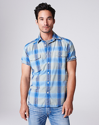 Balsa Board Plaid Shirt*