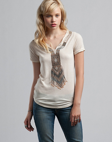Beaded Necklace T-Shirt*