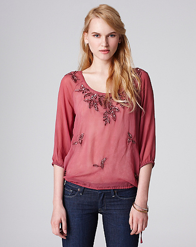 Beverly Lace Blouse*