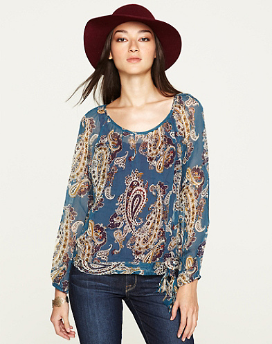 Bianca  Paisley Top*