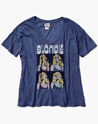 Blondie Oversized V-Neck T-Shirt